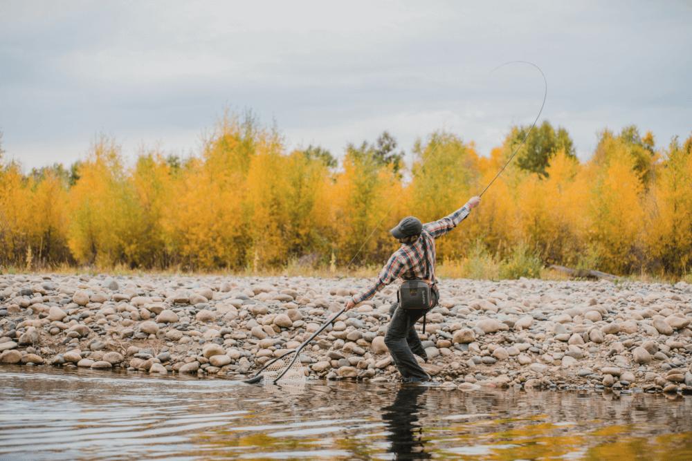 Marabou fishing on the elk river marabou ranch for Elk river fishing