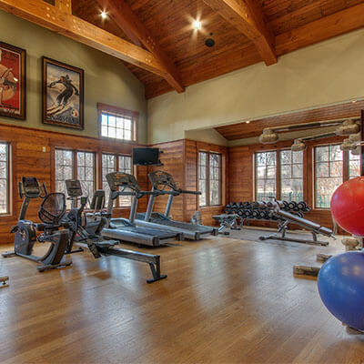 a gym fit for Olympians